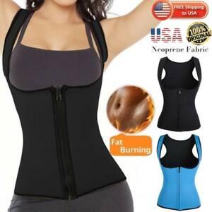 Fajas Reductoras Abdomen Para Sudar Y Weight Loss Para Mujer Shaper Cincher Vest