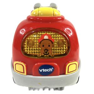 Go VTech Go Smart Wheels Police Car Smiley Face Lights Sounds Tested