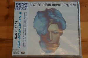 Bowie-Best-of-David-Bowie-74-79-Japan-18-Tracks-Cd-MINT-Thick-Case-Ed-OBI