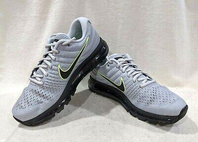 Nike Air Max 2017 Wolf GreyBlackPlatinum Men's Running Shoes Size 12.5 NWB | eBay