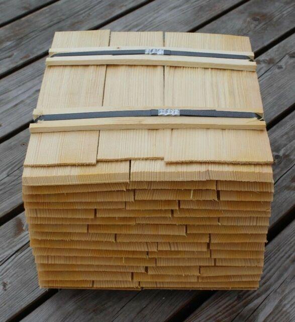 Lärchenschindeln 40cm gespalten Holzschindeln Gartenhaus Spielhaus Backofen