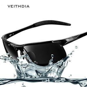 Aluminum-HD-Polarized-Photochromic-Sunglasses-UV400-Men-039-s-Sports-Outdoor-Eyewear