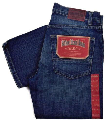 Tommy Hilfiger Men/'s $69.50 Classic Straight Leg Denim Jeans Size 30 x 30
