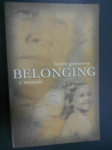 1 of 1 - Belonging by Renee Goossens (Paperback, 2003)