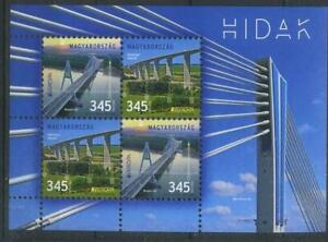 Hungary-2018-Europa-CEPT-Architecture-Bridges-MNH