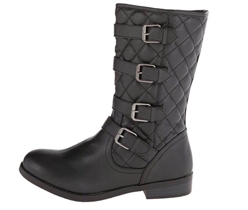New - Women's Wild Pair Preston Black Boots Size 7