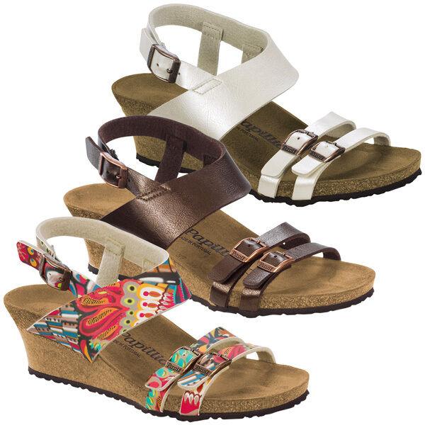 28c4dffb Birkenstock Papillio Ellen Birko-flor zapatos apartado sandalia cuña  sandalia