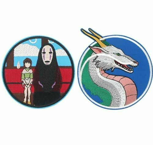 For Clothing Cool No Face Dragon Badges Iron On Patches Sewing Fabric DIY Patch
