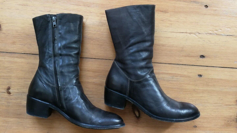 Shoto Bottines 38 = DT. 39 Anthracite Neuf femmes chaussures chaussures chaussures bottes Bottes b8600c