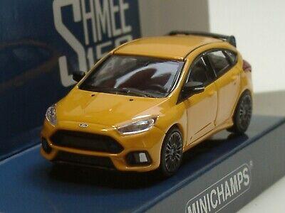"1//87 Ford GT 2018 /""Shmee150/"" rotmetallic//goldene Streifen MINICHAMPS 870 088025"