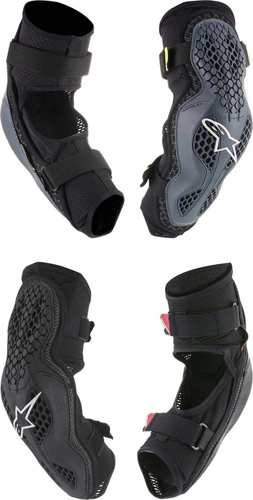 Alpinestars Adult Sequence Bicycle Elbow Guards Mountain Bike MTB BMX