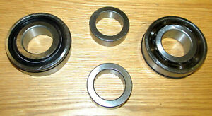 NEW Pair 1957  CHEVY REAR AXLE BEARINGS with O-RING SEALS