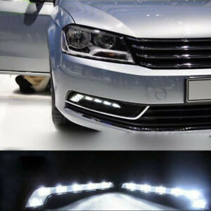 Car-Vehicle-6-LED-Daytime-Running-Light-DRL-Kit-Fog-Lamp-Day-Driving-Daylights-2