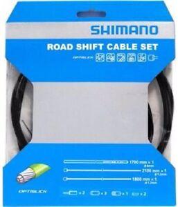 Shimano 105 5800//Tiagra 4700 Road OPTISLICK Coated Shift Cable Housing Set Blue