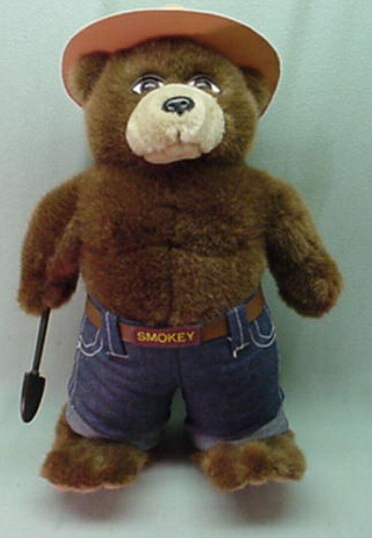 Smokey Bear plush doll with shovel   14