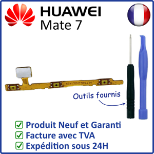 DU HUAWEI MATE 7 NAPPE INTERNE DES BOUTONS TOUCHES POWER ON OFF ET VOLUME