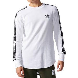Image is loading Adidas-Originals-Brand-Waffle-Men-039-s-LongsleeveThermal-
