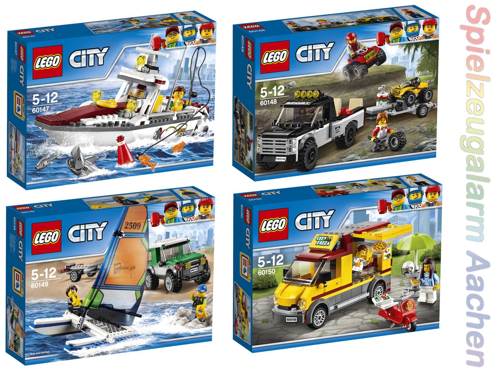 LEGO città 60147 60148 60149 60150 Angel Yacht QUAD  dtuttiascuderia fuoristrada n2 17  nelle promozioni dello stadio