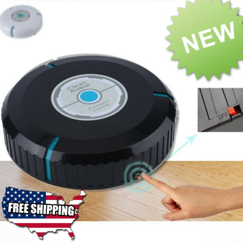 Smart Robot Vacuum Automatic Floor Cleaner Sweep Dust Sweeping Carpet Black Us For Sale Online