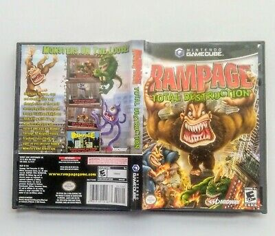 Case Manual Instruction Booklet Rampage Total Destruction For