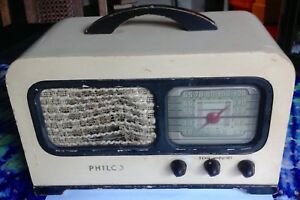 VINTAGE-Philco-Tube-Radio-Model-41-220-Beautiful-Condition