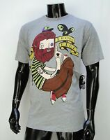 Iron Fist Company Sad Mascot Gray Mens T Shirt Size Xlarge