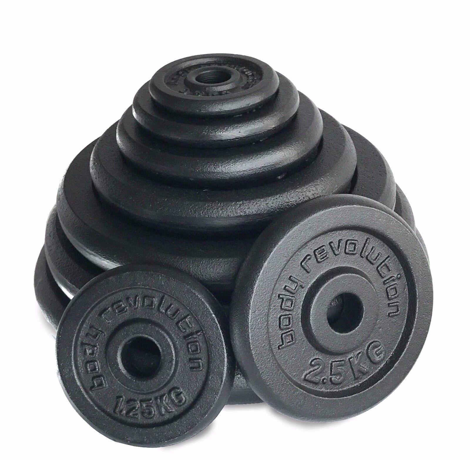 1  Gusseisen Gewichte Platten-Scheiben für Hanteln Hanteln - Sätze Personen 25mm