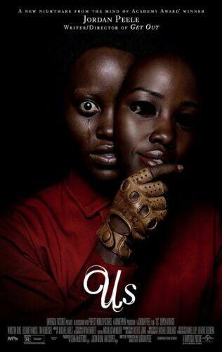 "Us Jordan Peele Lupita Nyong/'o Horror Movie Poster Art Print 13x20/"" 24x36/"" 27x40"