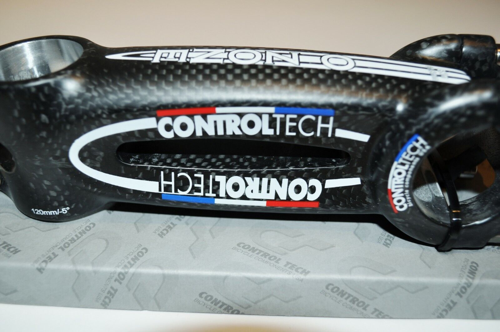 ControlTech 3K Carbon O-ZONE DCS 120mm New  In Box Titanium Hardware  factory outlet