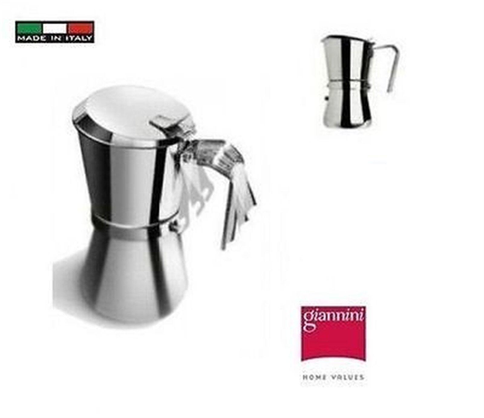 Giannini   101   Giannina    caffettiera inox  1 tazza  (Made in )