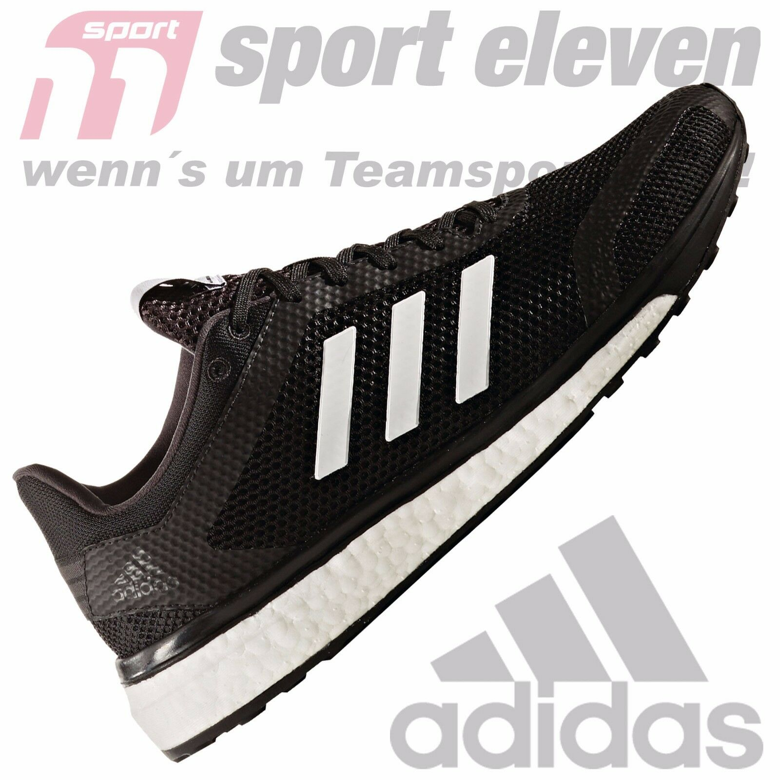 Adidas Response + m Laufschuhe Herren schwarz weiß - BB2982