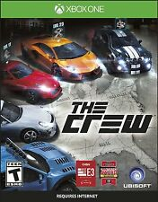 The Crew - Xbox One BRAND NEW ( Case is Damaged ) SN200406 SN200405