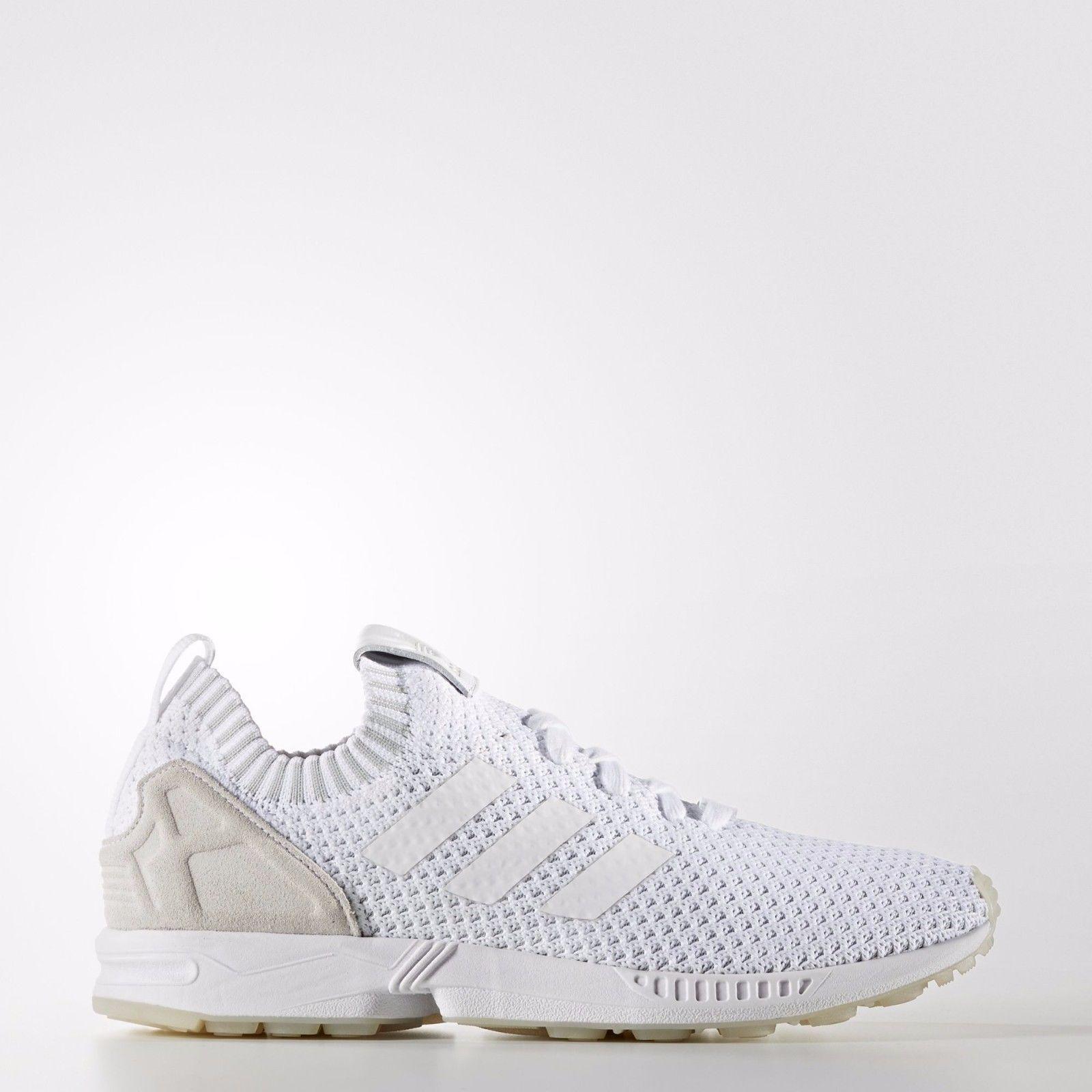 Adidas originali zx flusso pk primeknit triplo bianco casual sz 11,5 s75977 scarpe casual bianco ac3fd0
