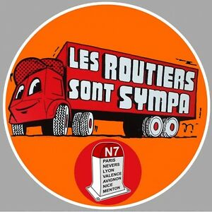 "Sticker "" Les Routiers "" Yorykdp2-07235414-971807974"