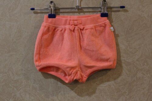 NWT Gymboree  Peach Terry Cloth Rear Pocket Shorts Girls /_/_/_/_/_/_/_/_/_/_/_/_ R1A1