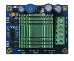 60A High Power MOS Dual Channel H-bridge DC Motor Driver Module New