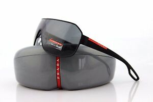 1ba8a97cb15df Image is loading NEW-Authentic-PRADA-Sport-Lifestyle-Black-Sunglasses-PS-