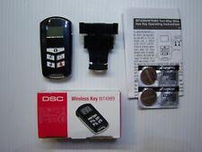 4-Button Backlite Remote Key Fob w//Icon Display NIB New DSC WT4989 2-Way