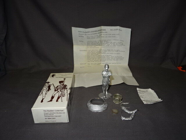 Boxed Stadden Collection Unpainted Soldier - No49 Drummer Staffordshire Regt