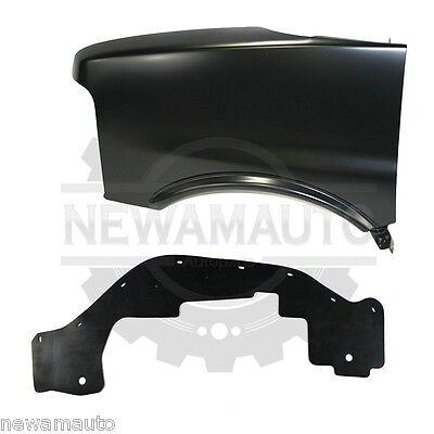 New Front Driver Side Fender Splash Shield Fits Chevrolet Express 3500 GM1250131
