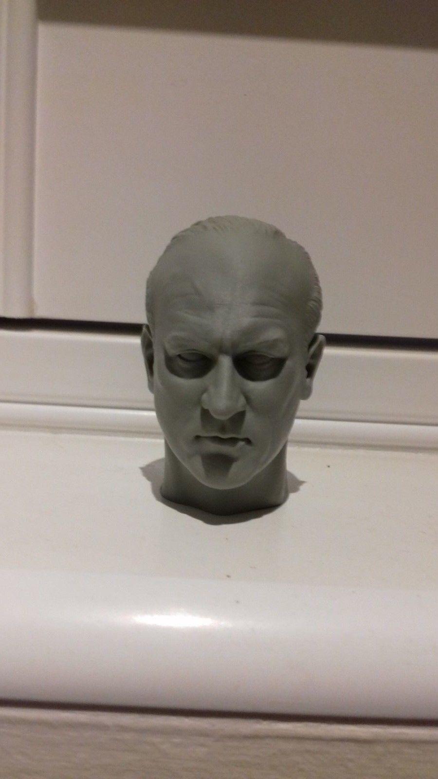 Escala 1 6 X 3 los intocables cabezas sin pintar cabezas By Rocco