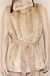 Kristen Blake Donna In Finta Pelliccia Gilet Coniglio Osso a colori 3 Taglie fantastico nuovo con etichetta  </span>