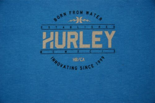 Hurley Boys T Shirt Born From Water Innovating Since 1999 Blue Hurley Surfing