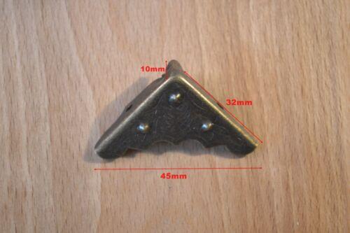 now with screws* PROKRAFT PKR BCP32 ANTIQUE BRONZE CORNER PROTECTORS
