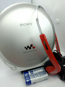 Sony-D-EJ360-CD-Walkman-Discman-Personal-Stereo-Music-Compact-Disc-Player-Silver