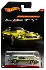 2017 Hot Wheels Camaro Fifty Series #3 '81 Chevy Camaro