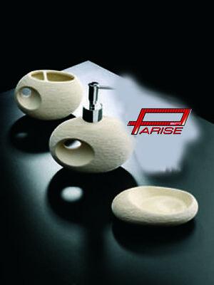 plus grand choix de tout neuf bas prix Accessori Bagno Dededimos ceramica porta sapone dosatore spazzolino Rustika  B   eBay