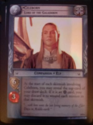Lord of the Rings CCG Mt Lord of the Galadhrim LOTR TCG MINT Doom Celeborn