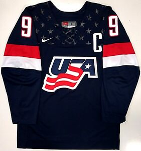 Jack Eichel Team Usa Nike 2015 World Juniors Jersey Buffalo Sabres