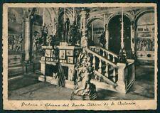 Padova Città Basilica Sant'Antonio Altare di PIEGHE FG cartolina VK2470